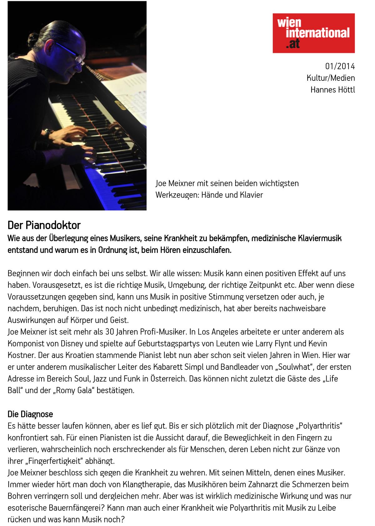 pianomedicine